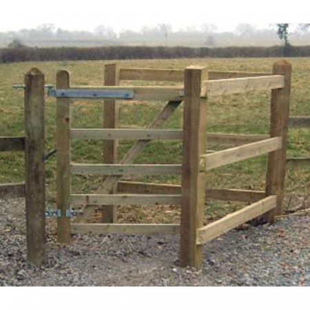 Installed Kissing Gate example
