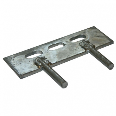 150mm 2 Pin Cleat for Concrete