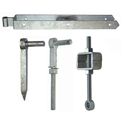 """Field Gate Hanging Sets - available with 12"""" or 24"""" Top Bands, Adjustable Bottom, Hook to Drive and Hook to Bolt"""