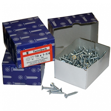 BZP Finish Screws