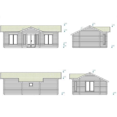 Anna 26.8m² - building profiles
