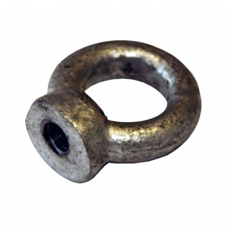 galvanised loopnut for using with a M10 threaded bolt