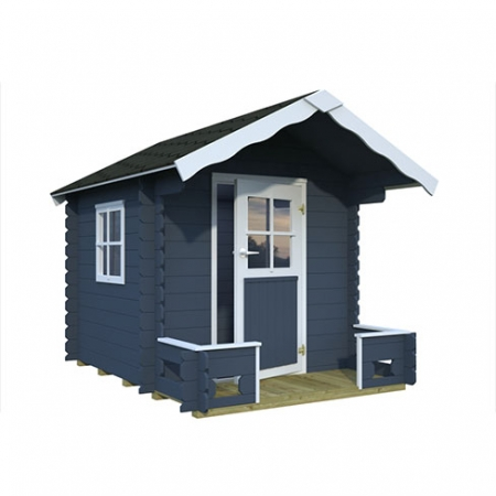 The Sam Playhouse with painted finish