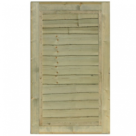 Standard frame Waney edge panel gate