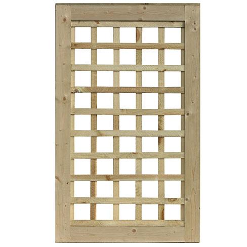 Standard frame Trellis gate