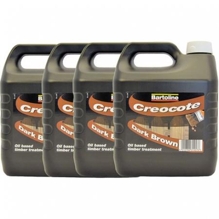 Creocote Timber Treatment - Dark Brown