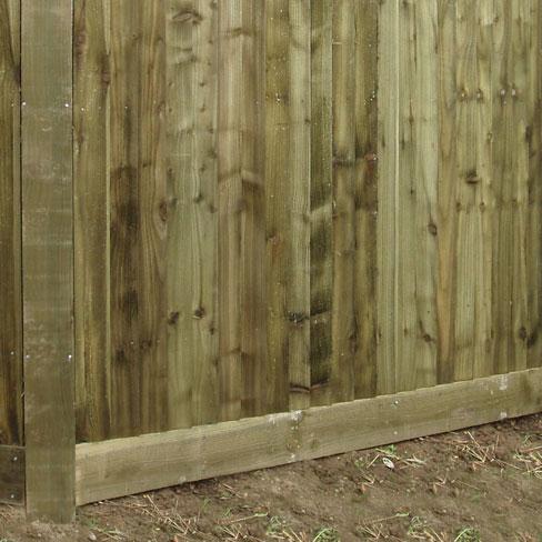 Gravelboard or kickboard installed