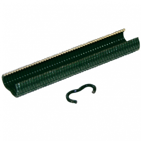 Fence clips or Hog rings green plastic coated Rapid VR22