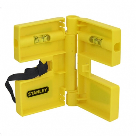 Stanley post level for perfectly level fence posts
