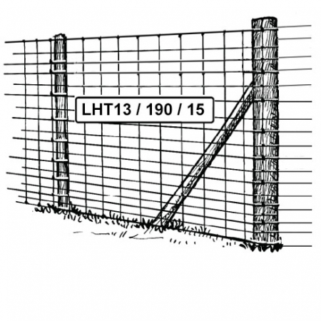L15/120/15 mild steel stock fencing 1200mm high