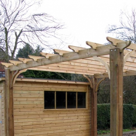 Pergola main beams