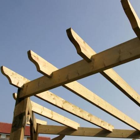 pergola top beam
