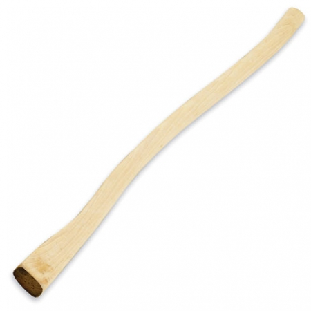 Replacement hickory wooden adz handle
