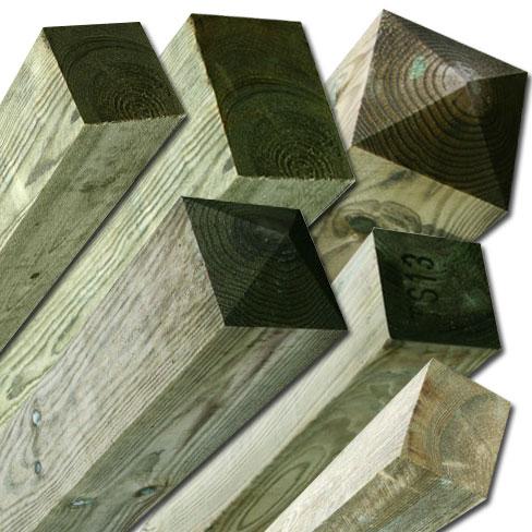 Softwood Posts