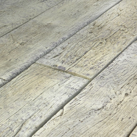 Weathered decking close up - Driftwood colour