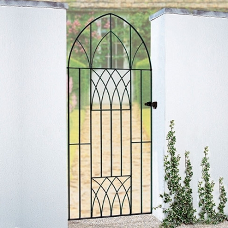 Abbey Bow Top Metal Gate