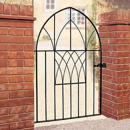 Abbey Low Bow Metal Gate