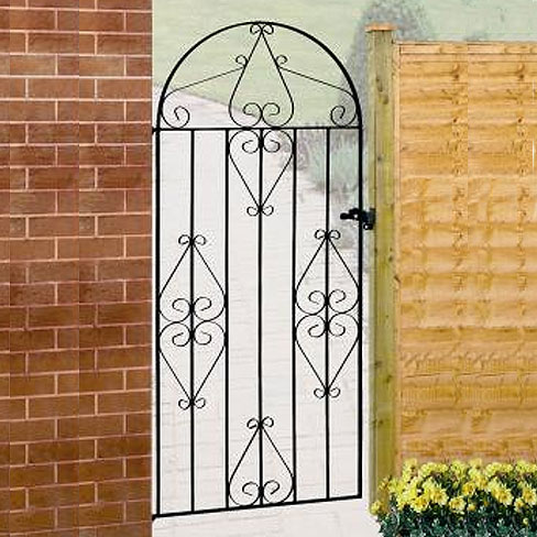 Classic Bow Top Metal Gate