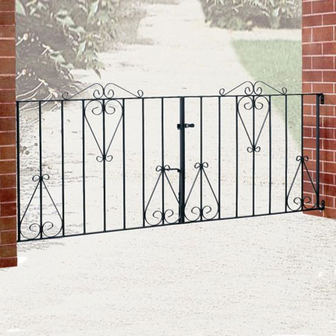 Classic Double Metal Gates