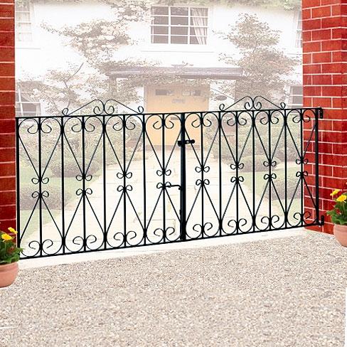 Regent Double Metal Gates