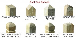 Post Top Options