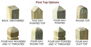Post Top Options