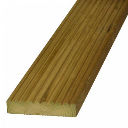 Grooved reeded decking 38x150mm
