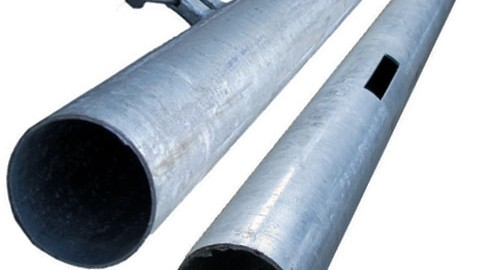 Metal posts available at Tate Fencing