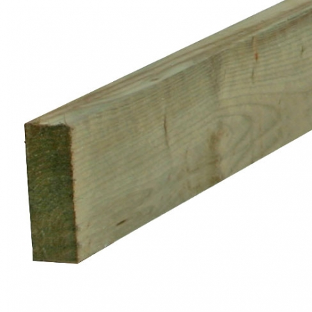 38 x 100mm sawn rail for post and rail fencing