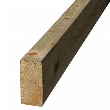 "regularised stock timber 47 x 100mm or 4"" x 2"""