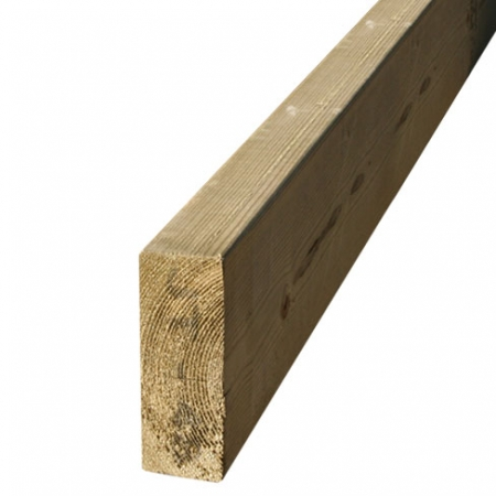 "stock regularised timber 47 x 125mm or 5"" x 2"" timber"