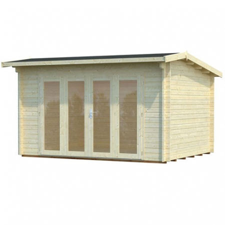 Ines (13.7m²) log cabin