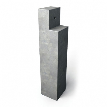 Concrete decking support post durable and long lasting