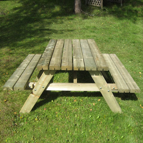 small picnic bench 1400mm wide