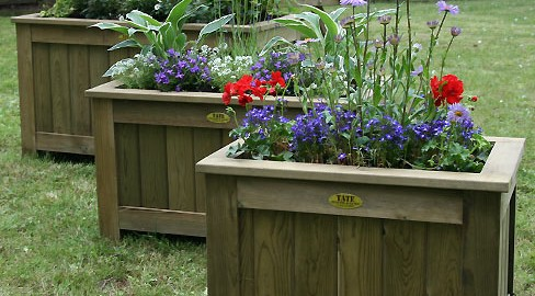 Tate Fencing garden planters