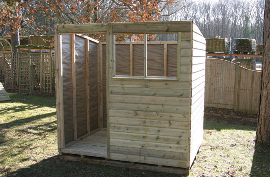 Pent Roof Shed Installation Instructions Tate Fencing