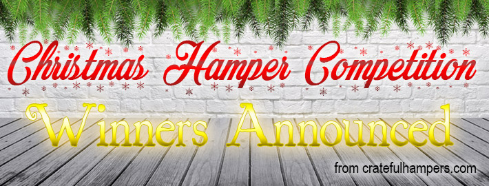 Christmas hamper competition winners announced