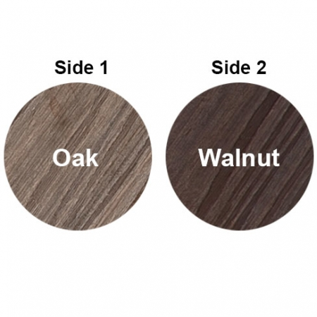 HD Deck Composite Decking double sided 2 colours Oak and Walnut