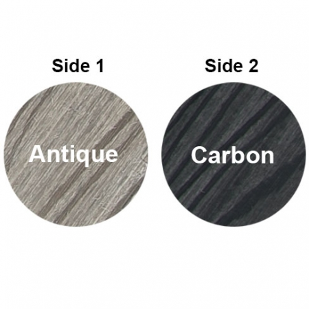 HD Deck Composite Decking double sided 2 colours Antique and Carbon