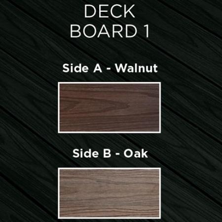 HD Deck Oak and Walnut Colours