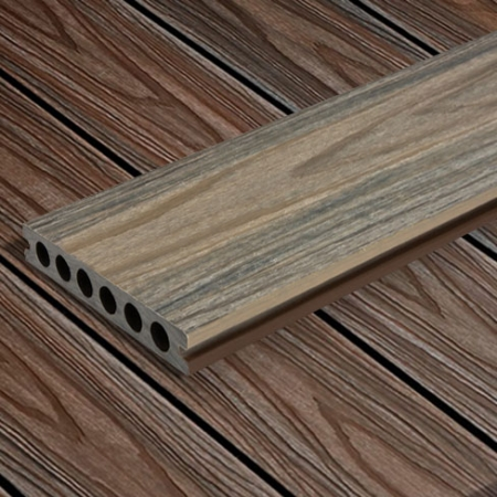 HD Deck Oak and Walnut decking boards