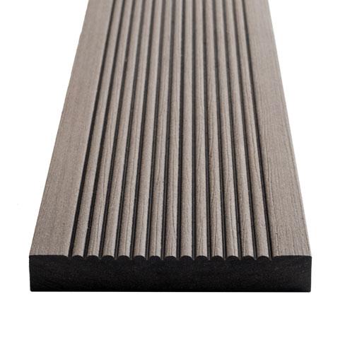 smart board reversible chocolate brown grooved side