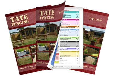 Tate Fencing Brochure 2020