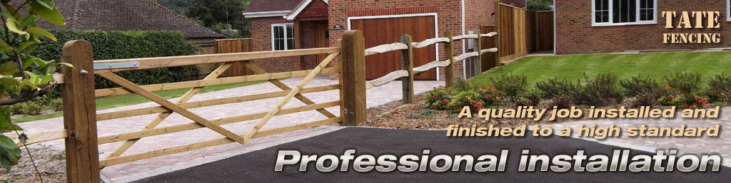 Fencing and Gate Installation