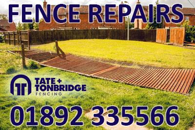 Fence Repairs 01892 335566