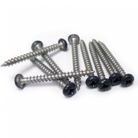 Pack 10no DuraPost Screws Anthracite Grey pack 10