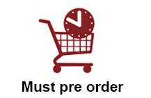 You must pre order