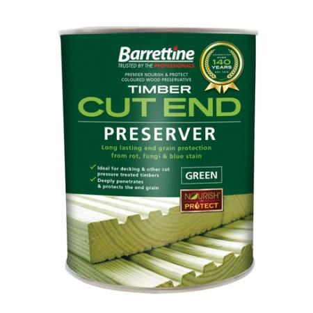 Barrettine cut end wood preserver