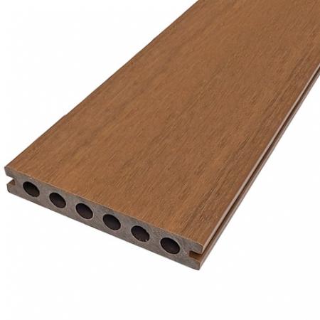 Teak NewTechWood Ultrashield Composite Deck Board