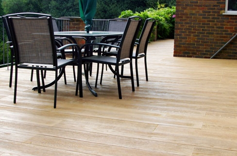 millboard composite decking installed